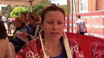 krista-duchene-after-the-london-marathon