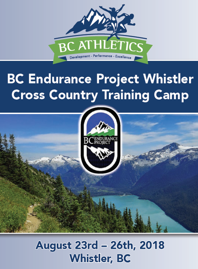 BC Endurance Project Whister Cross Country Training Camp