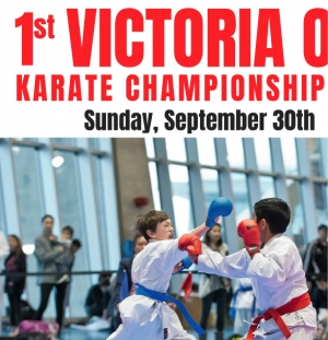 1st Annual Victoria Open Karate Championships