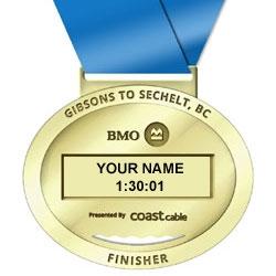 Finisher Medal Insert