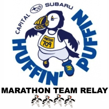 Huffin' Puffin Marathon Team Relay