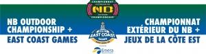 East Coast Games / NB Outdoor Champs / RJTW Provincials