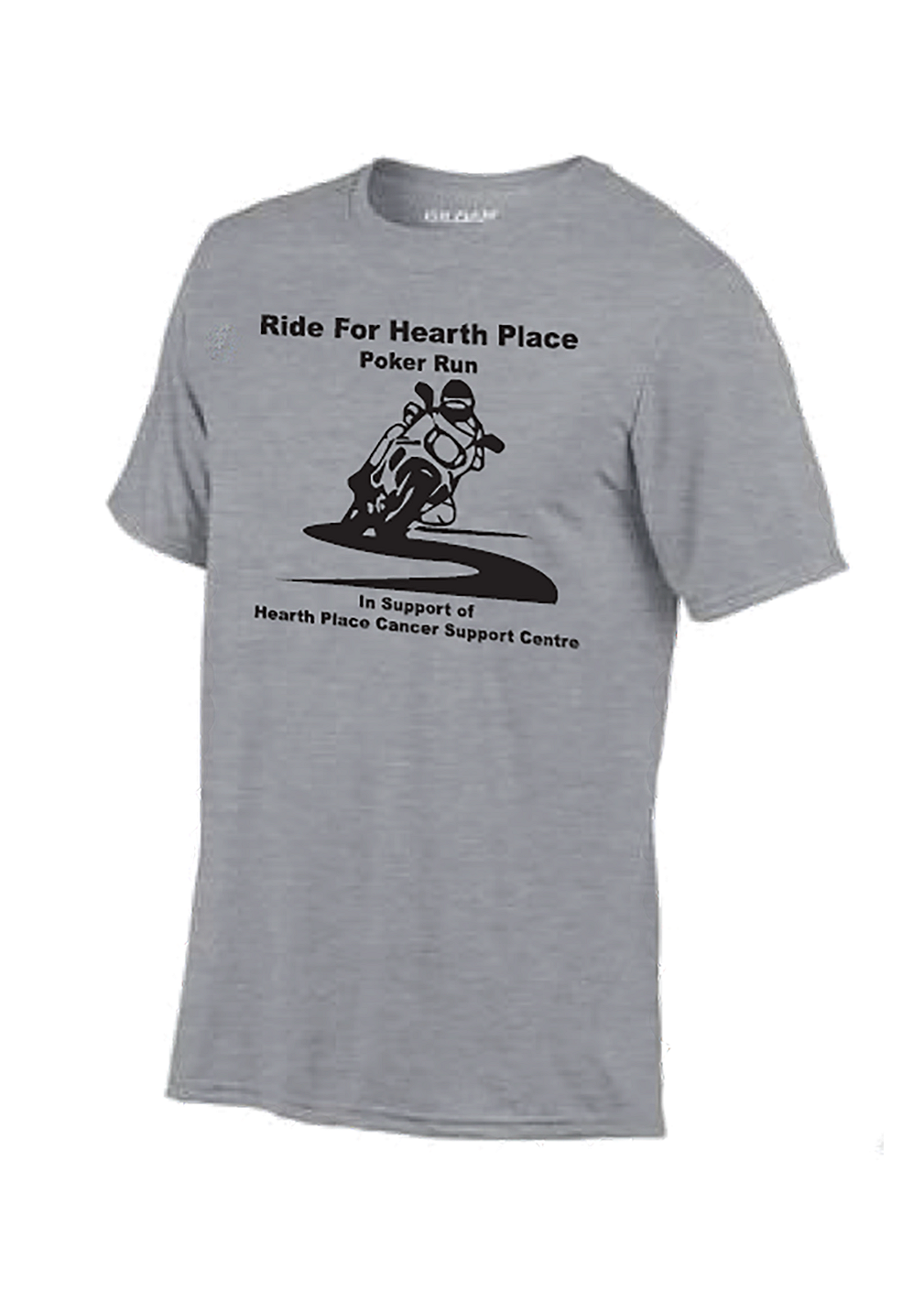 Ride For Hearth Place T-Shirt-Womens