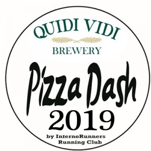 (NO Shirt Included) 2019 Pizza Dash 4.5K sponsored by Quidi Vidi Brewery