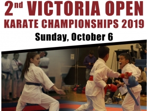 2nd Annual Victoria Open Karate Championships