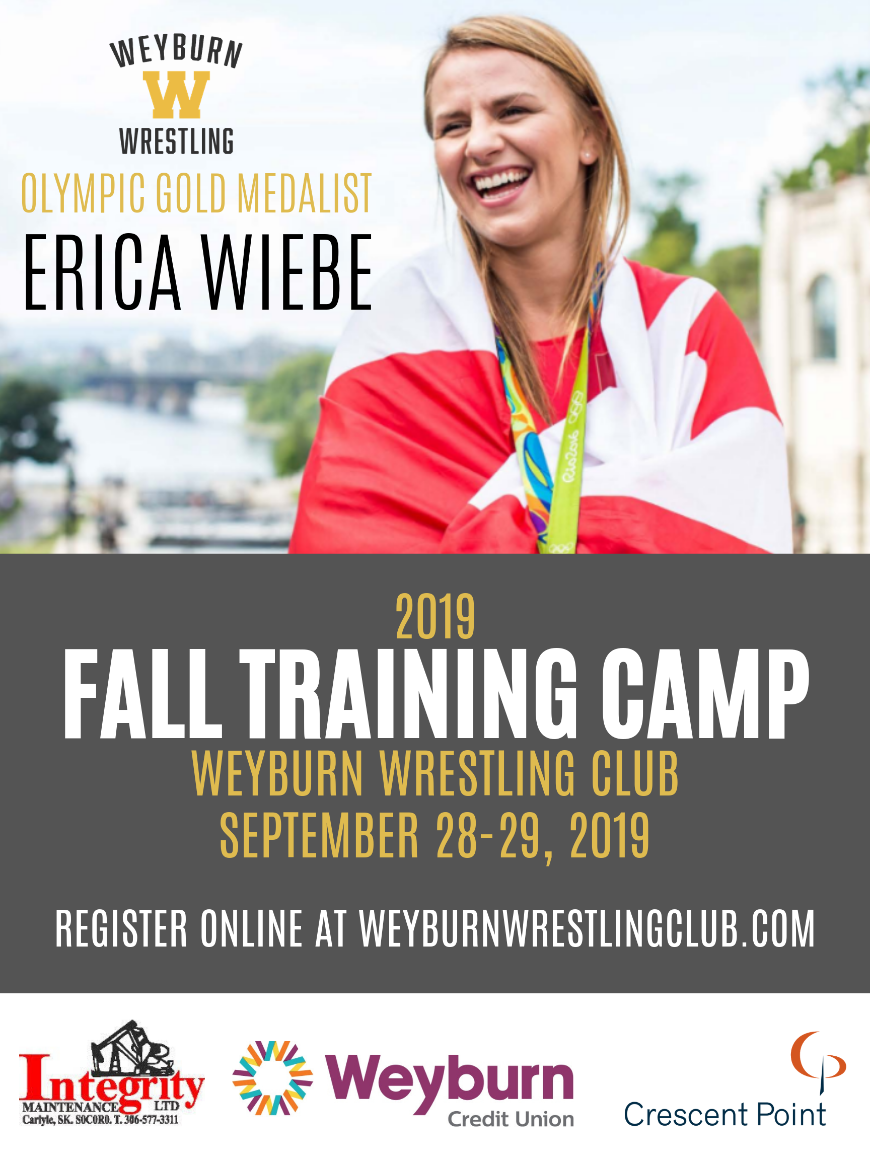 2019 Fall Training Camp with Erica Wiebe