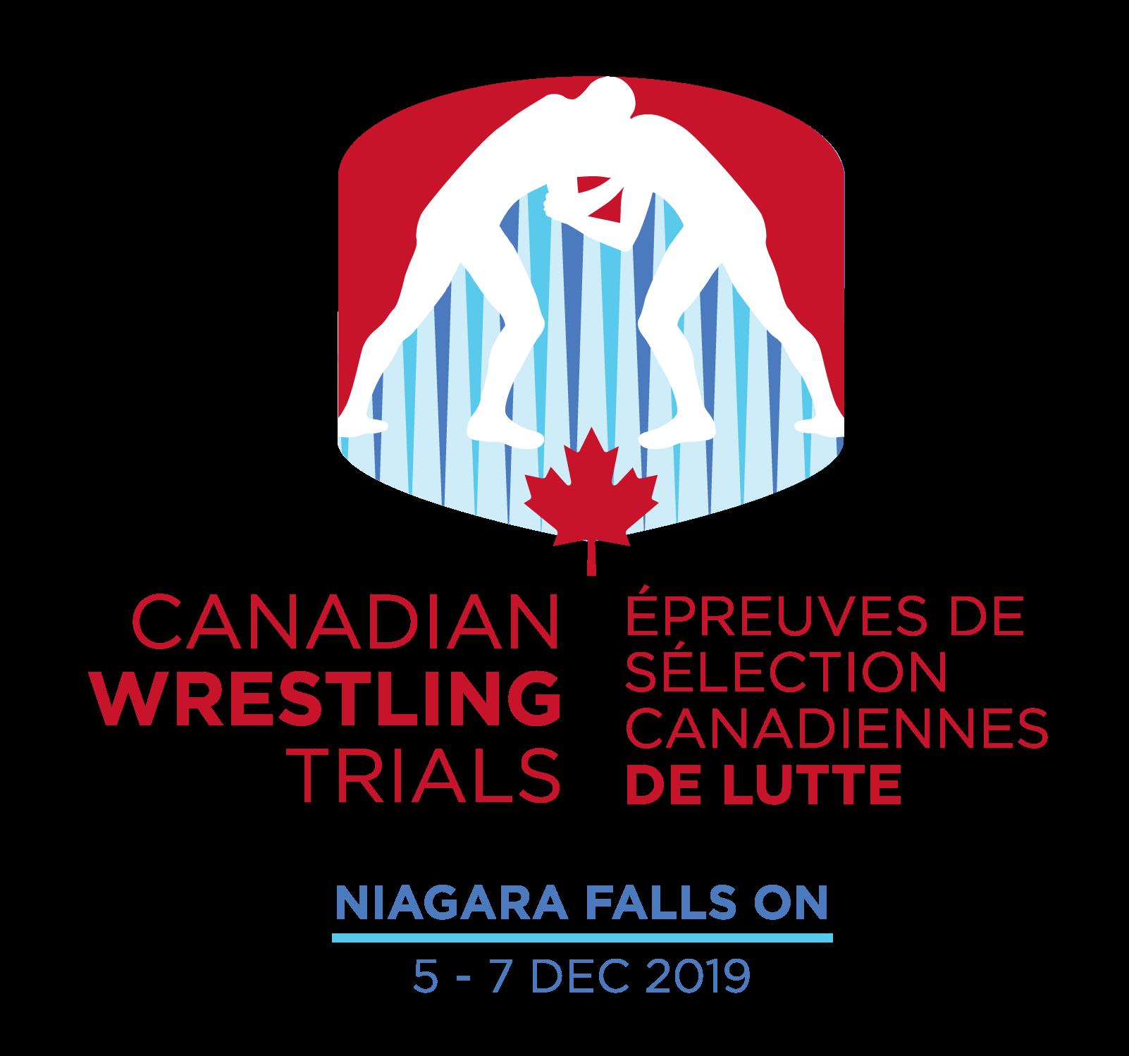 2019 Canadian Wrestling Trials - TRAINING PARTNER REGISTRATION