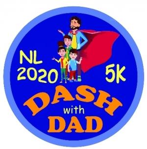 2021 Dash with Dad 5K NL (Family Run)