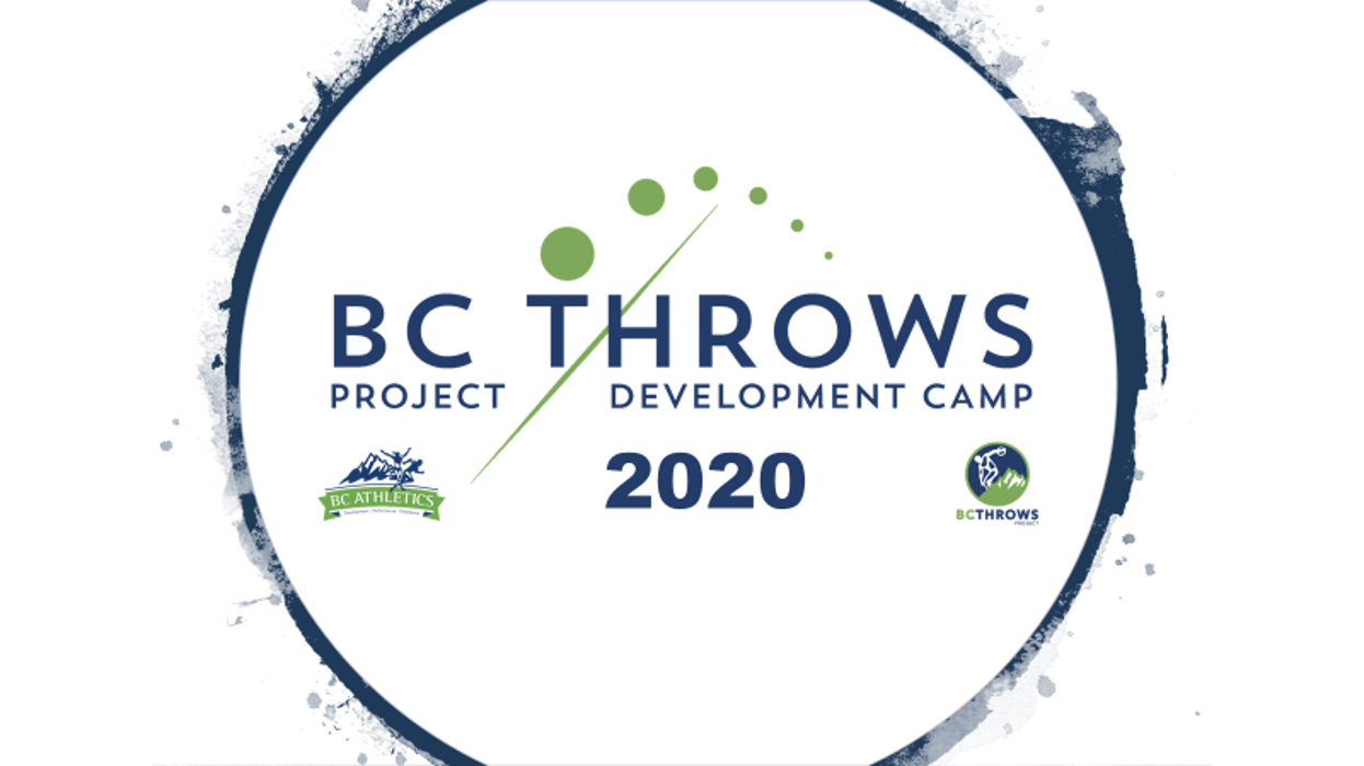 2020 BC Throws Project Development Camp