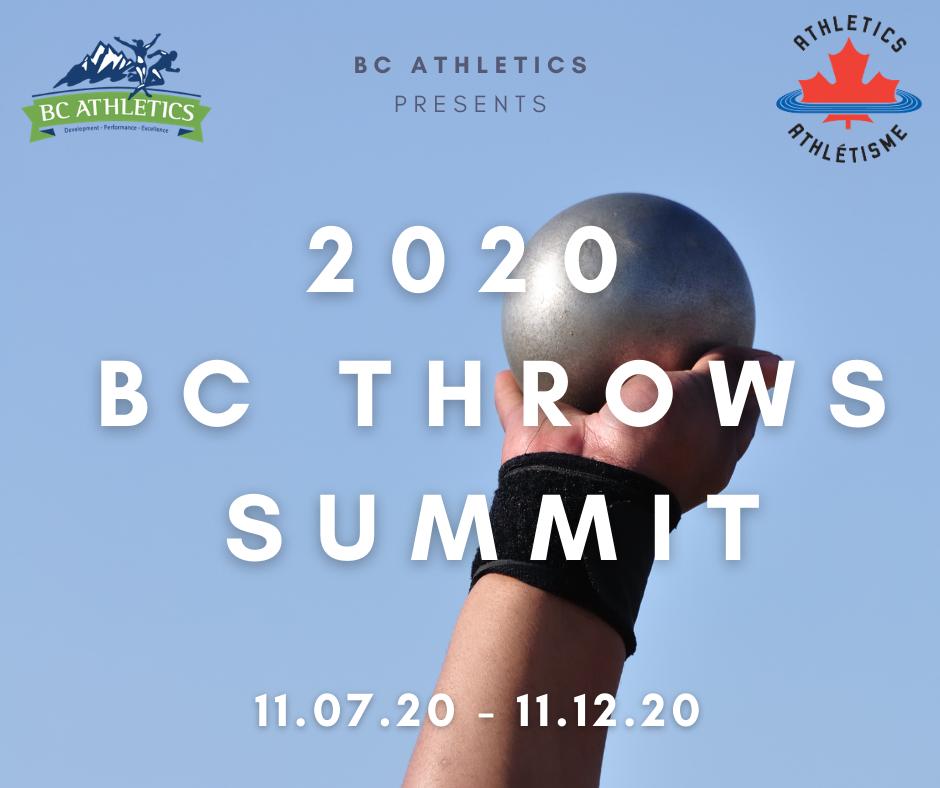 2020 BC Throws Summit