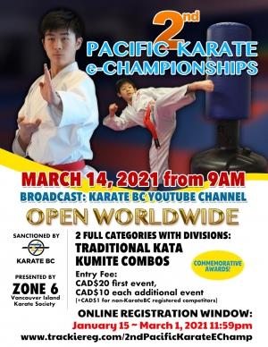 2nd Pacific Karate eChampionships