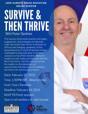 Survive & Then Thrive