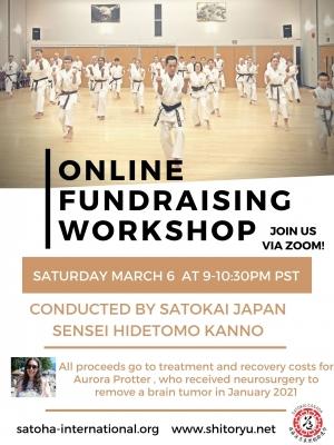 Sato-Kai Japan Kata Fundraising Seminar