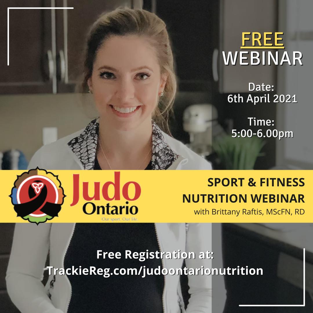 Judo Ontario Nutrition Seminar
