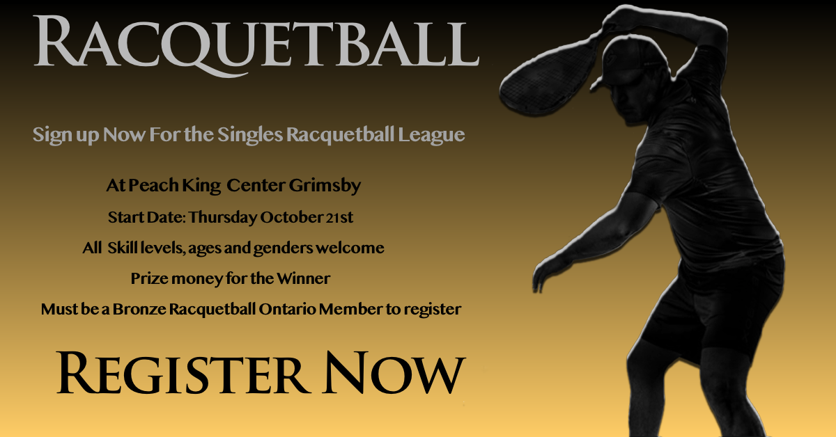 Grimsby Singles Racquetball League
