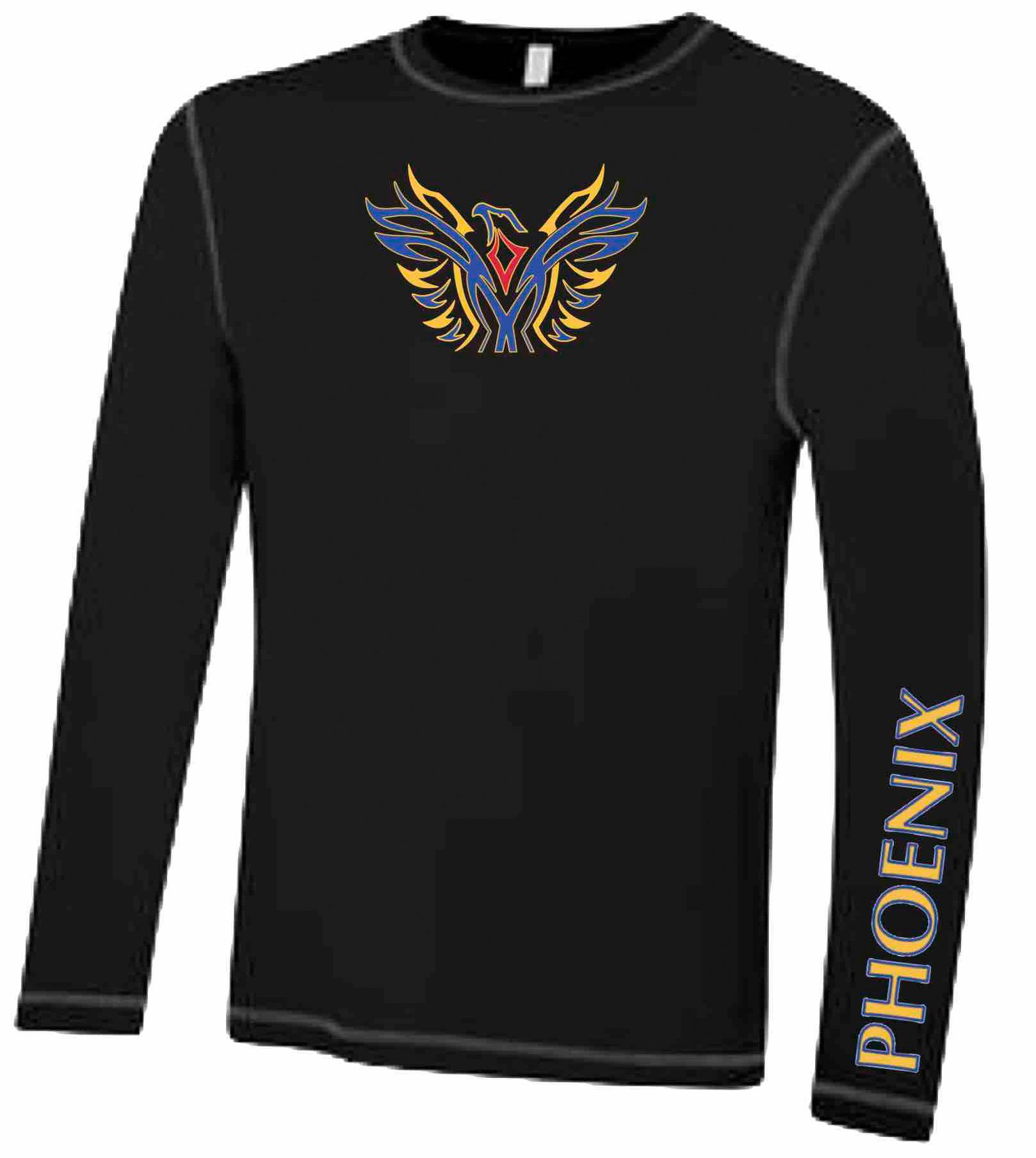 BLACK - Ultra Soft Long Sleeve Technical Shirt