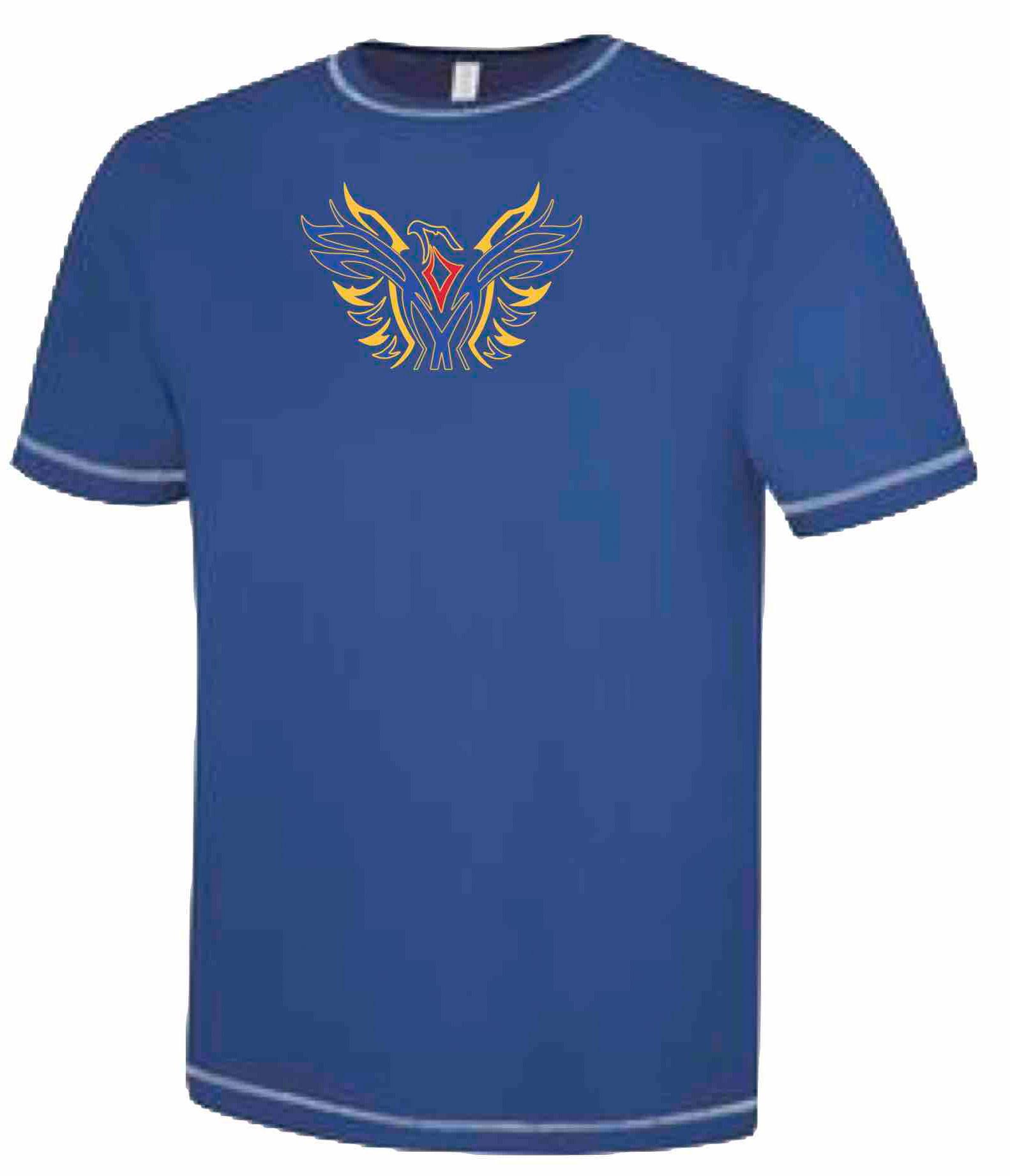 BLUE - Ultra Soft Short Sleeve Technical Shirt