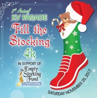 Fill the Stocking 4-km at the KV Santa Claus Parade