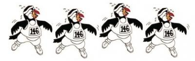Huffin' Puffin Ekiden Marathon Team Relay